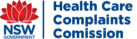 NSW Government Corporate Logo - Health Care Complaints Commission