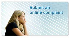 Button - Submit an online complaint