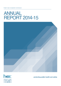 Annual Report Cover 2014-15